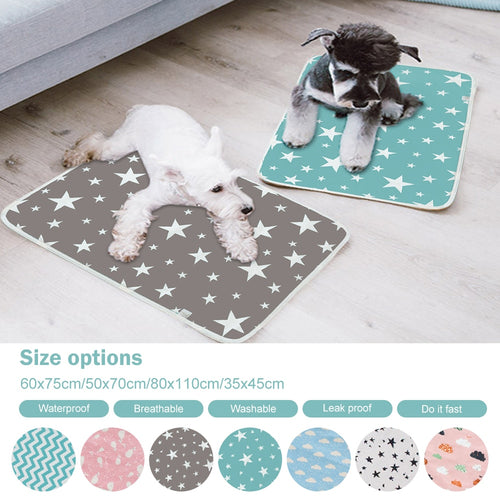 Reusable Dogs Diaper Mat