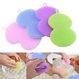 Heat Resistant Silicone Dish Sponge (set of 4)