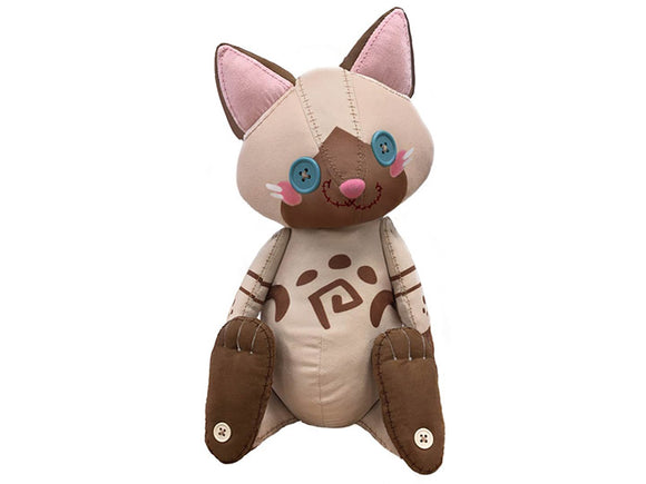 Monster Hunter World: Iceborne Airou Plush Doll