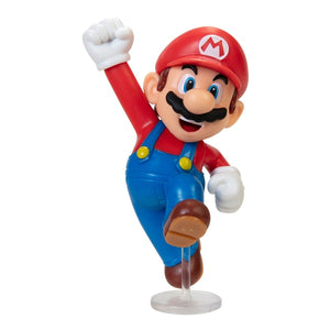 World of Nintendo Super Mario Wave 27 Mario 2.5-Inch Mini Figure [Jumping]