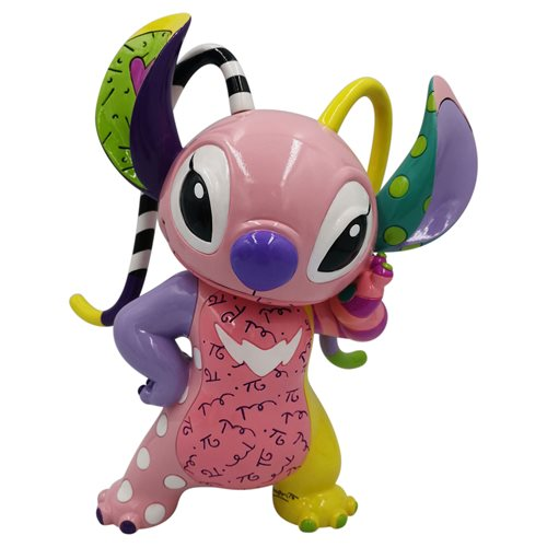 Enesco Disney by Romero Britto Lilo and Stitch The Series Angel Figurine