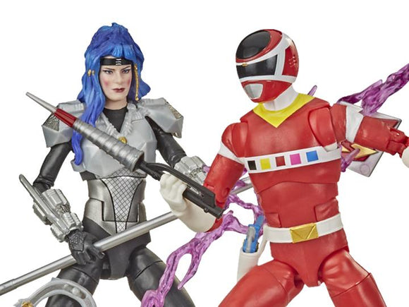 Power Rangers Lightening Collection In Space Red Ranger and Astronema 2 Pack