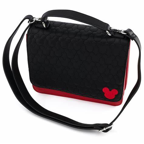 LOUNGEFLY X DISNEY MICKEY MOUSE QUILTED COSPLAY CROSS BODY BAG