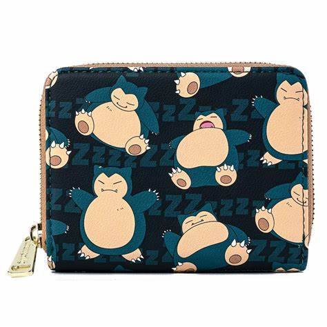 POKÉMON SNORLAX ZIP AROUND WALLET