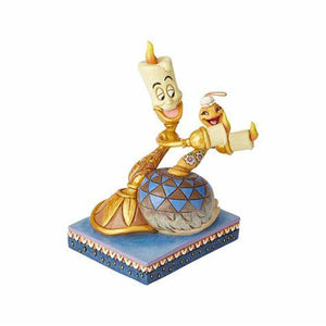 Lumiere & Feather Duster Disney Traditions