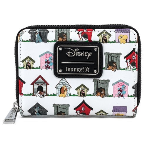 DISNEY DOG HOUSES AOP ZIP AROUND WALLET