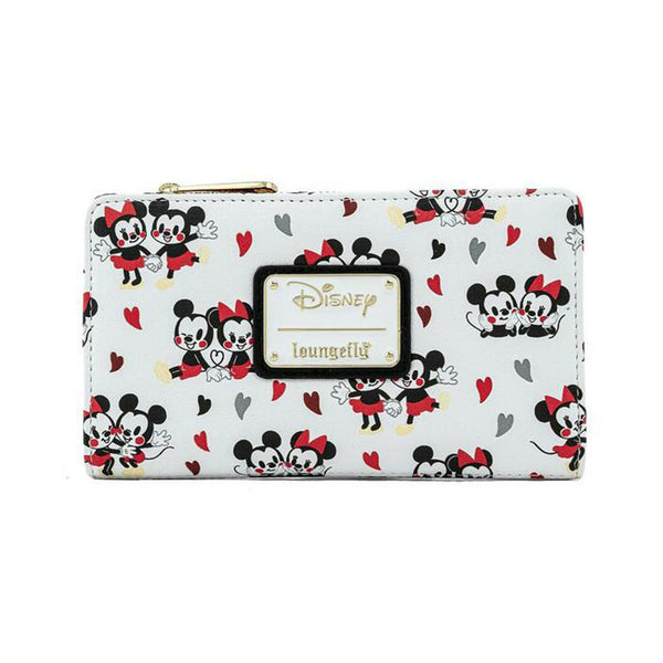 Loungefly Disney Mickey And Minnie Mouse Hearts wallet
