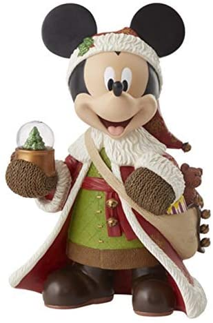 Couture De Force Disney Showcase Santa Mickey Mouse Old World St. Mick Hallmark Exclusive Figurine 6008244