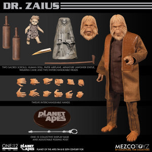 Mezco Toyz One:12 Collective Planet of the Apes: Dr. Zaius Action Figure