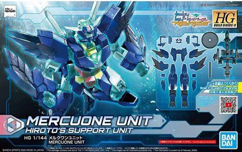 Mercuone Unit Hiroto's Support Unit HG 1/144