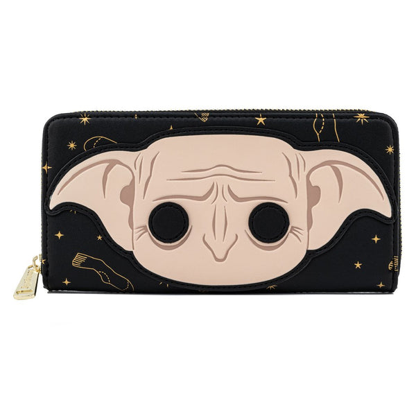 FUNKO POP! BY LOUNGEFLY HARRY POTTER DOBBY ZIP AROUND WALLET