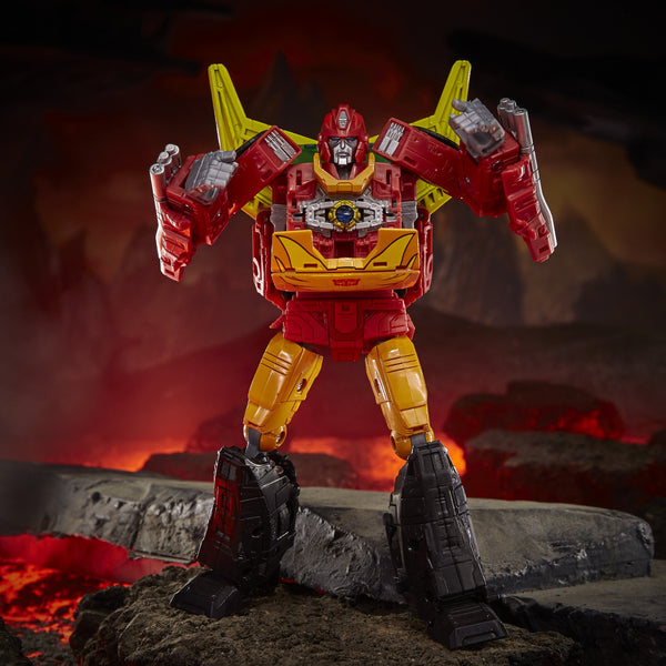 PRE-ORDER Transformers Generations War for Cybertron: Kingdom Commander WFC-K29 Rodimus Prime