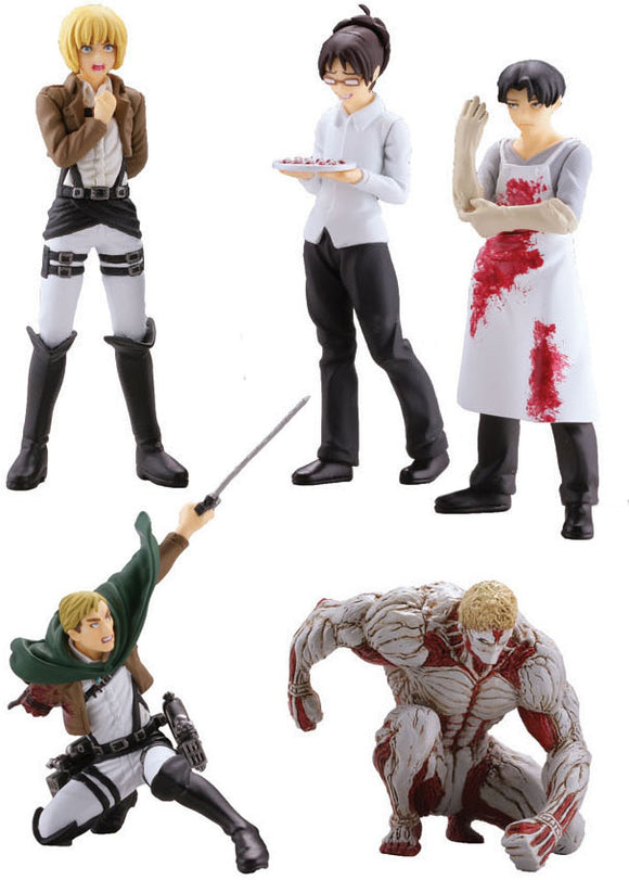 Attack on Titan Blind Box Capsule Toys