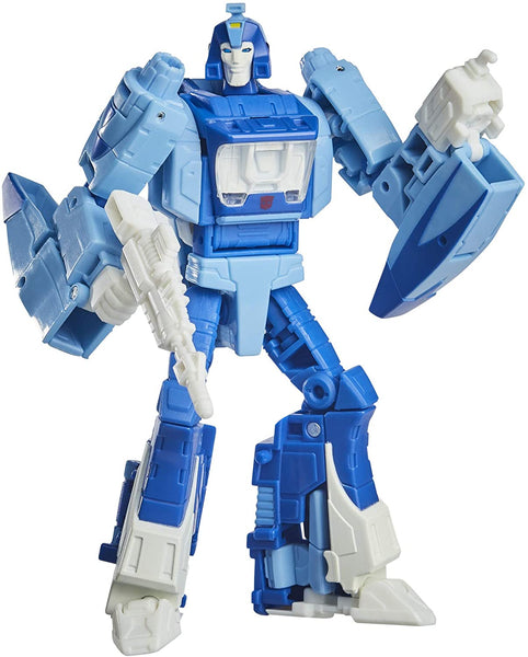 Transformers Toys Studio Series 86-03 Deluxe Class The The Movie 1986 Blurr Action Figure - Ages 8 and Up, 4.5-inch