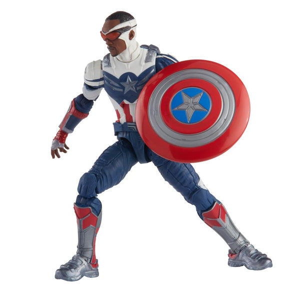 PRE-ORDER Marvel Legends Disney Plus Captain America Wave Captain America 6 Inch Action Figure