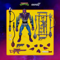 Super7 Ultimates Teenage Mutant Ninja Turtles Wave 1 Version 2 Foot Soldier 7 Inch Action Figure