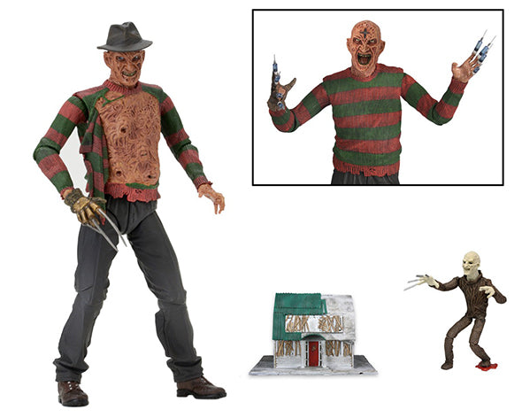 NECA -Nightmare on Elm Street: Dream Warriors – 7″ Scale Action Figure – Ultimate Part 3 Freddy