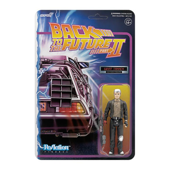 Super7 Back to the Future 2 ReAction Griff Tannen 3.75