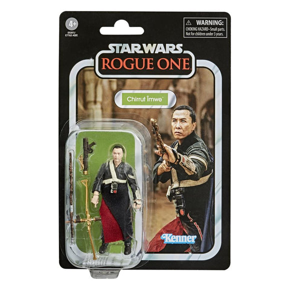 Star Wars The Vintage Collection Rogue One Chirrut Imwe 3.75 Inch