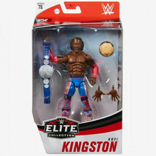 WWE Elite Collection Kofi Kingston Series 78