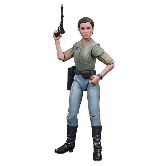 Star Wars The Black Series ROTJ Leia Endor 6 Inch Action Figure