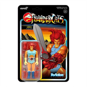 Super7 ReAction Thundercats Wave 1 Lion-O 3.75 Inch Action Figure