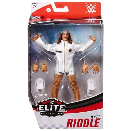 WWE Matt Riddle Elite Series 78