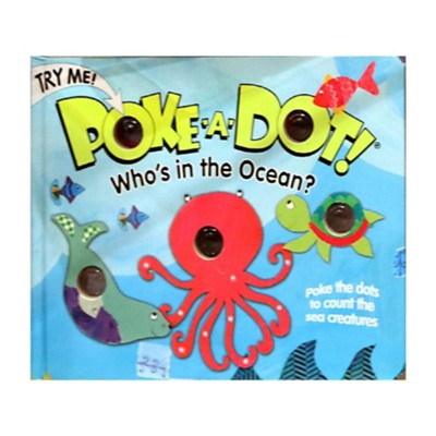 Melissa and Doug Poke A Dot Book Who's in the Ocean