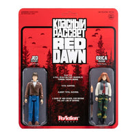Red Dawn ReAction Jed Eckert & Erica Mason 3.75 Two-Pack