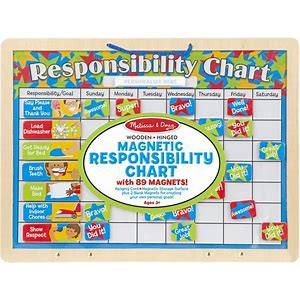 Melissa and Doug Respnsibility Chart