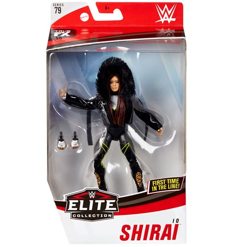 WWE Io Shirai Elite Collection Series 79
