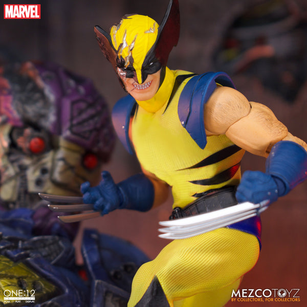 PRE-ORDER Mezco One:12 Collective Marvel Wolverine Deluxe Steel Box Edition