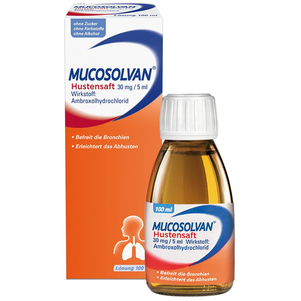 Mucosolvan Hustensaft 30g / 5ml