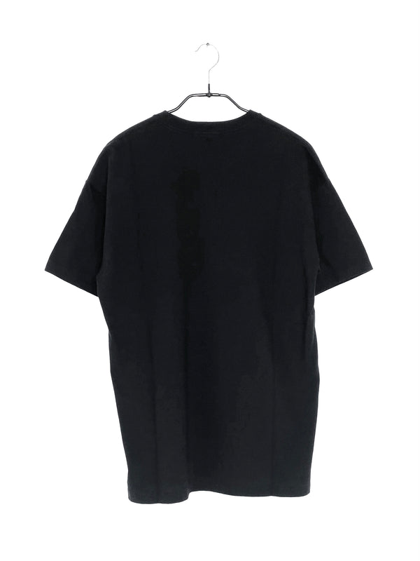 Seamless Crew Neck T-Shirt Black