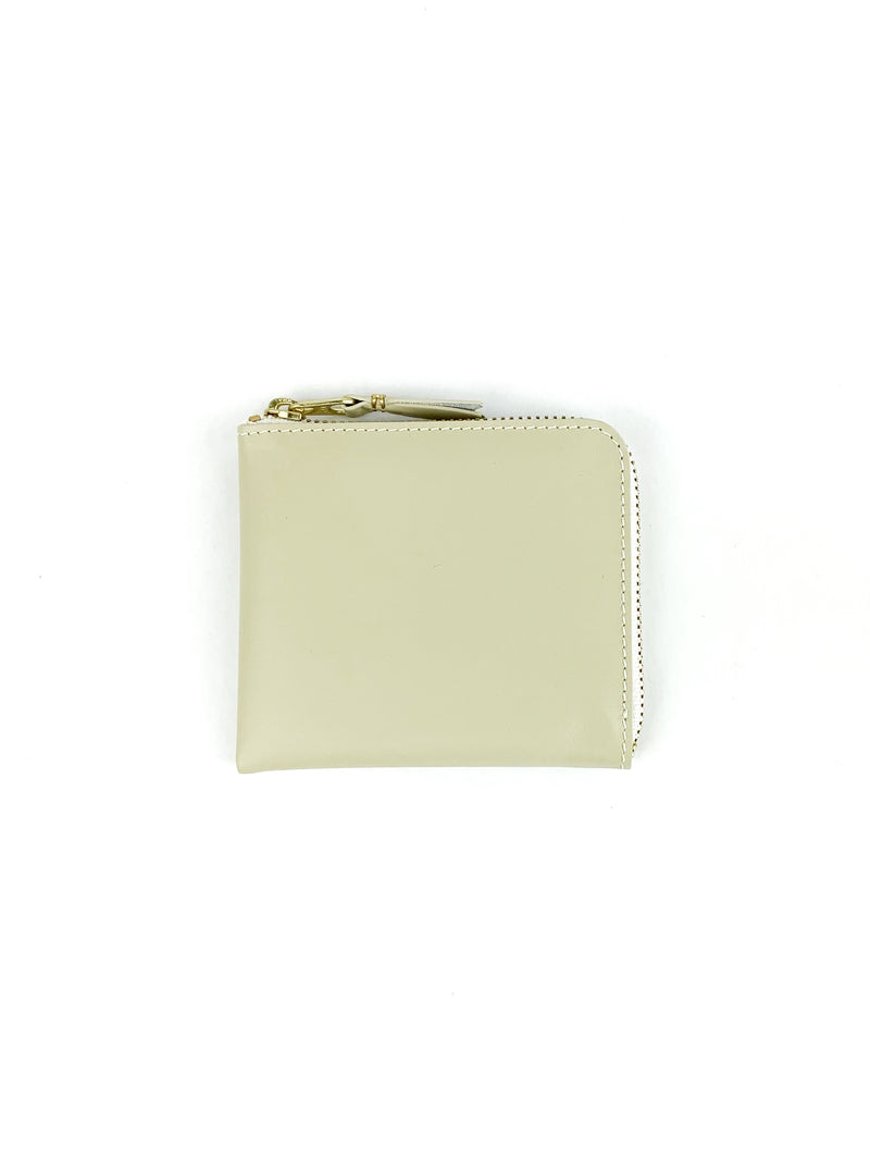 CDG Classic Side Zip Wallet Off-white