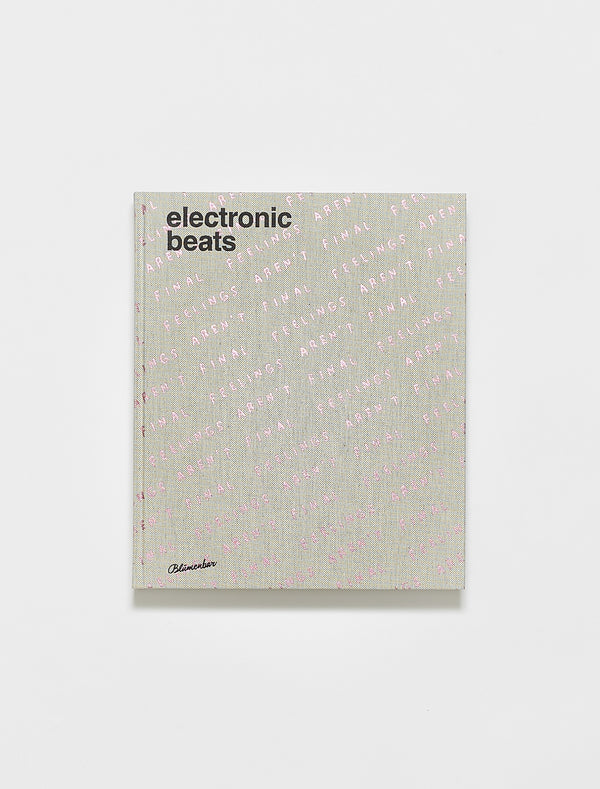 Electronic Beats Book Limited Edition