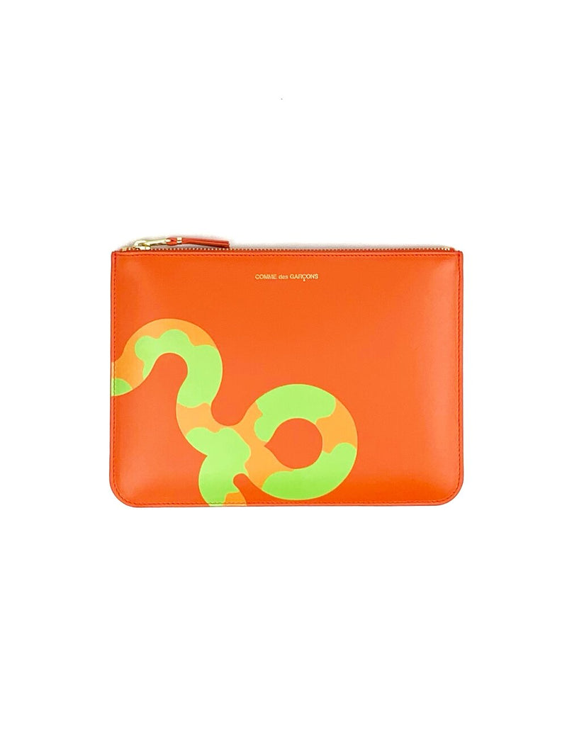 CDG Ruby Eyes Orange Clutch Wallet
