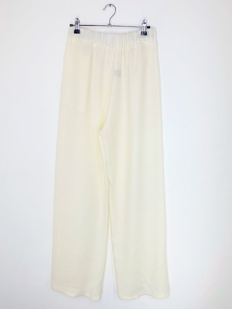 Work Pants White