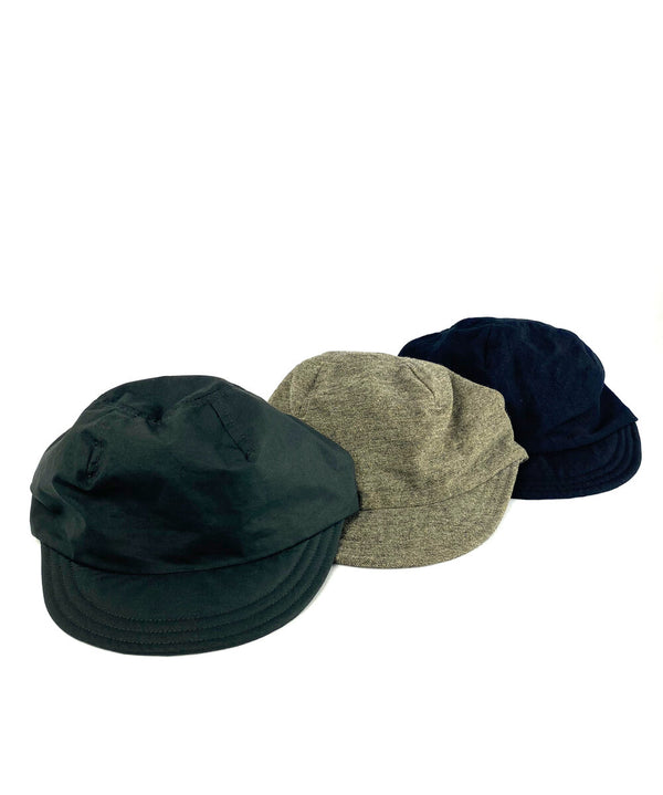 Pepper Washed Wool Linen Twill Cap Nr.3
