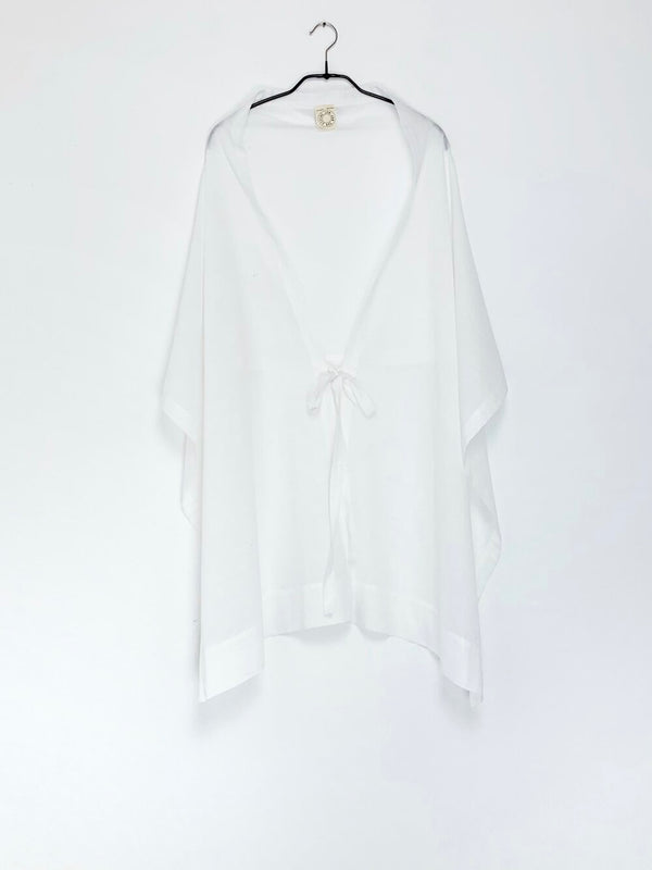 Off-White Cotton Scarf Nr. 22