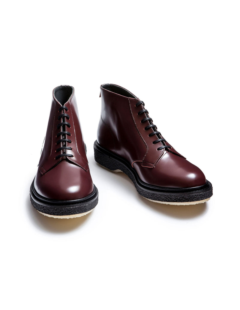 Type 77 Bordeaux Polished Leather Boots