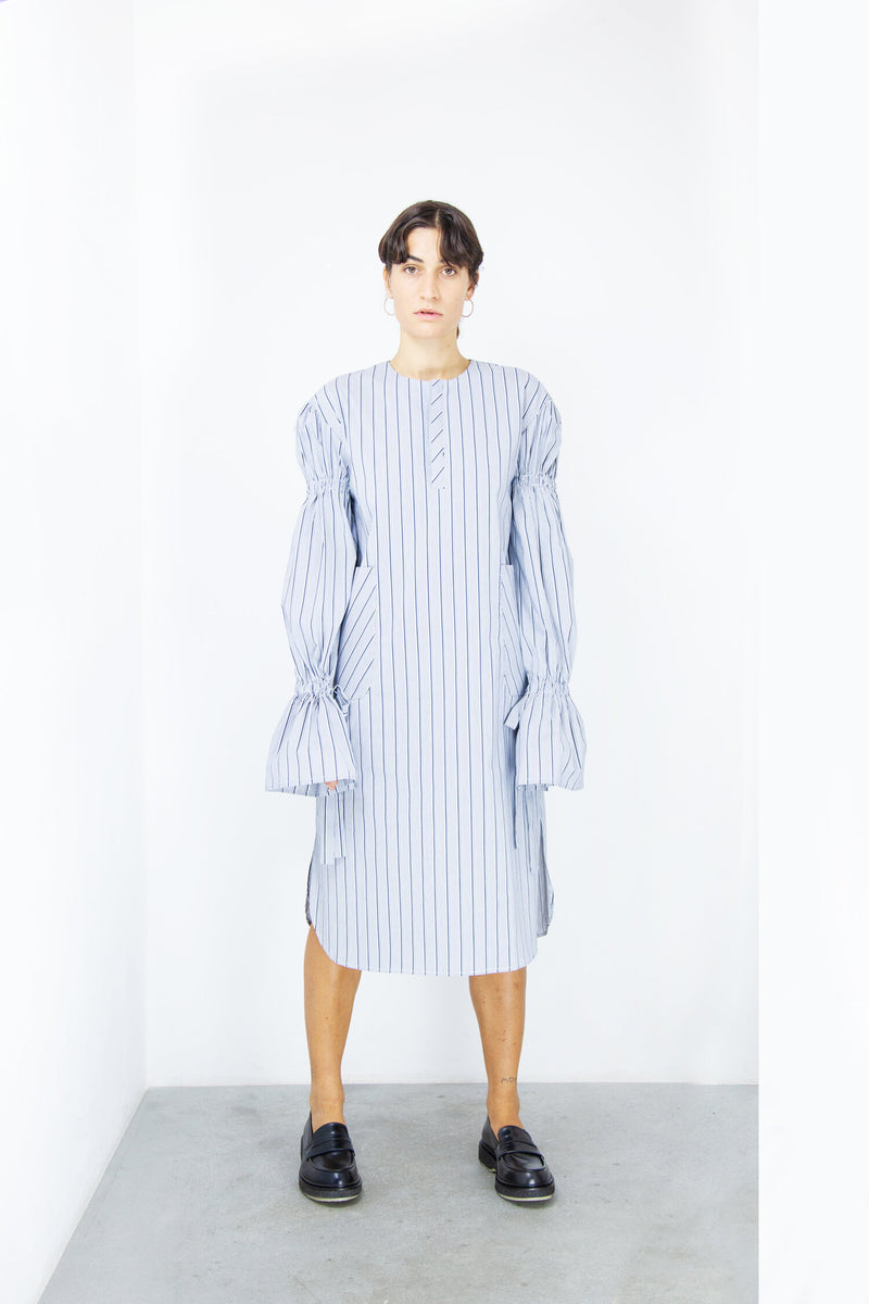 Striped Village dress