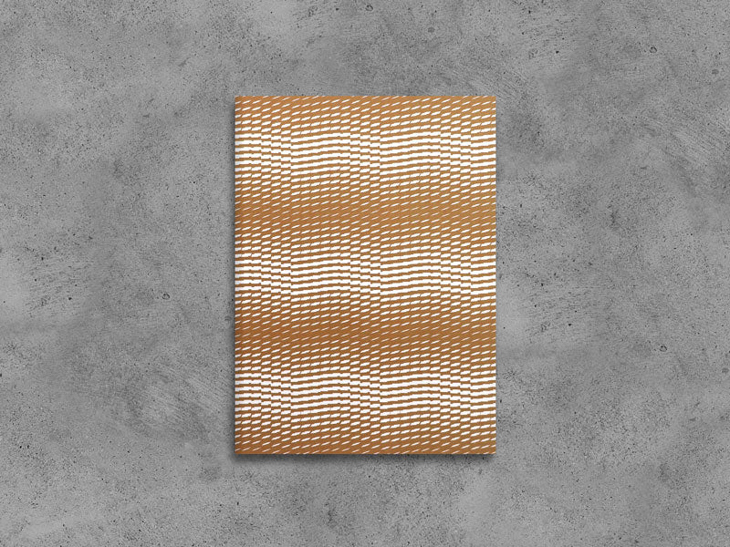 Wave-Edition N°3 Notebook in 4 Colors