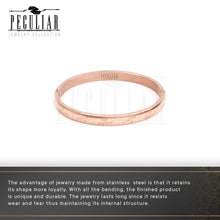 Load image into Gallery viewer, Peculiar Jewelry Locked Forever Bangle Bracelet