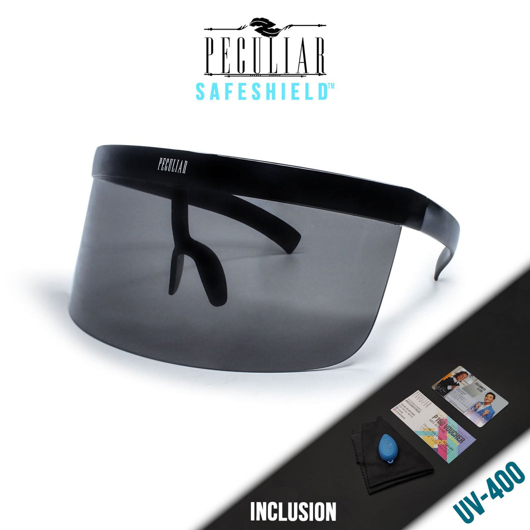 Peculiar Kenny Sun Visor Sunglasses Protective Shield UV400