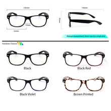 Load image into Gallery viewer, Peculiar BOSS Square BLACK Polycarbonate Frame Photochromic Transition PRO