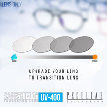 Load image into Gallery viewer, Transition / Photochromic Lens Upgrade Lens Upgrade(Lens Only) - Peculiar Advance Anti-radiation Ultralight Weight Photochromic Vision Eye Glasses Transition Lenses Blue Light Lens Scratch Resistant UV400