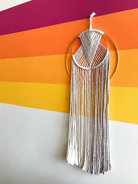 Double Hoop Wall Hanging