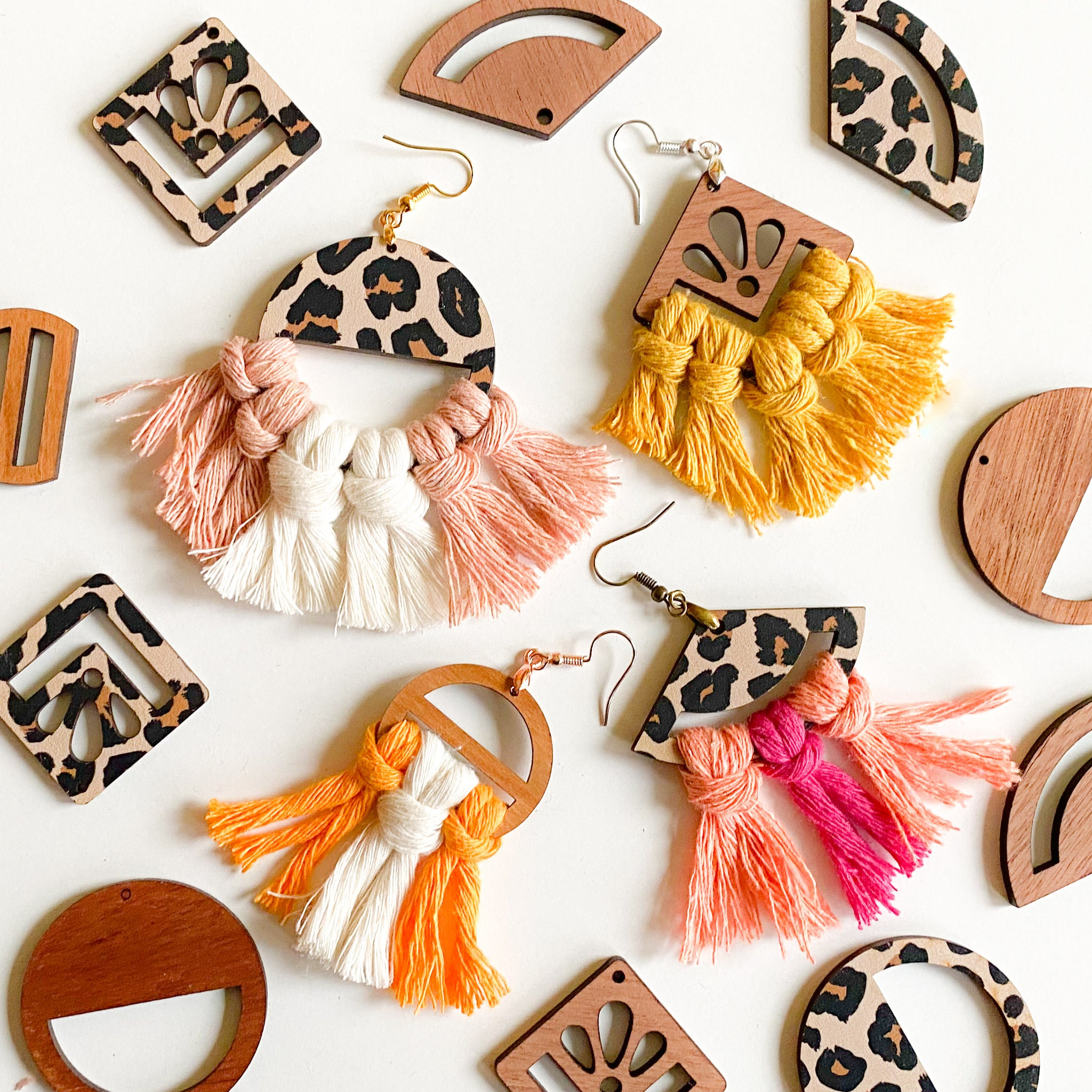 DIY Macrame Earring Kit