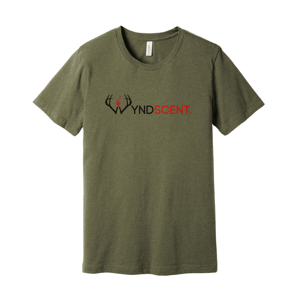 Wyndscent Heather Olive T-shirt